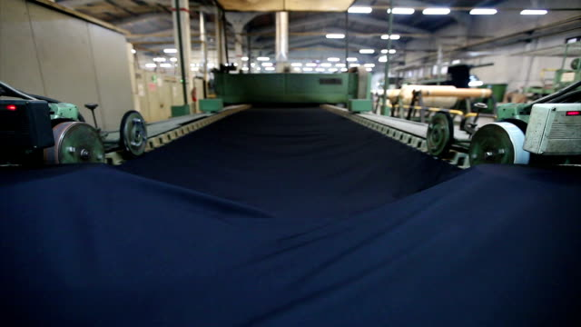 textile manufacturing - textile mill stock videos & royalty-free footage