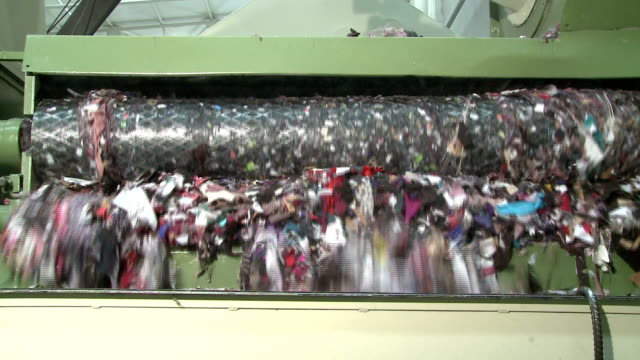 textile recycling - recycling stock videos & royalty-free footage