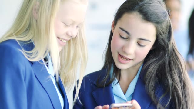 texting in class - secondary school stock videos & royalty-free footage