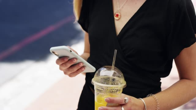 texting while out and about in town - on the move stock videos & royalty-free footage