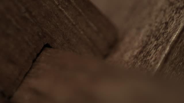 texture of wood - interlocked stock videos & royalty-free footage