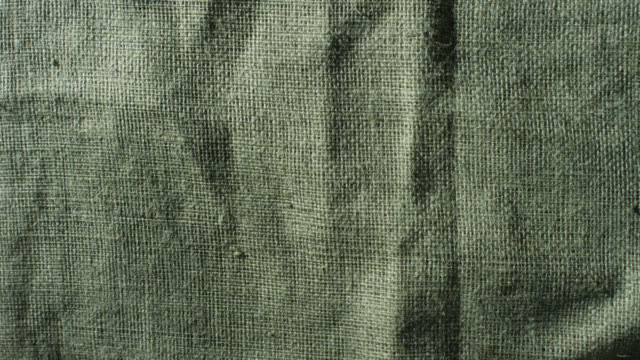 textured hessian fabric, uk - bag stock videos & royalty-free footage