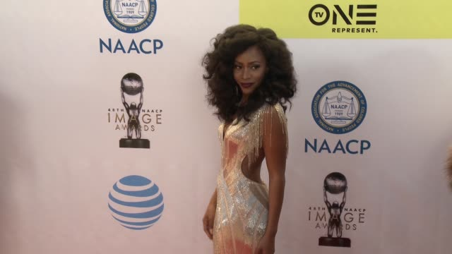 Teyonah Parris at 48th NAACP Image Awards at Pasadena Civic Auditorium on February 11 2017 in Pasadena California