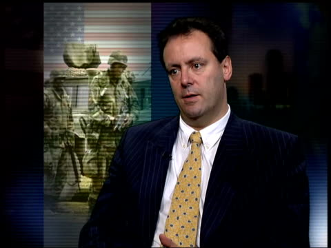 possible phase two dan plesch interview sot during gulf war the americans set up a glorified petrol dump from which they carried out raids for about... - 2001年~ アフガニスタン紛争点の映像素材/bロール