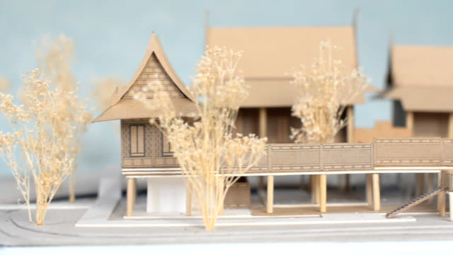 thai architecture - model kit stock videos and b-roll footage