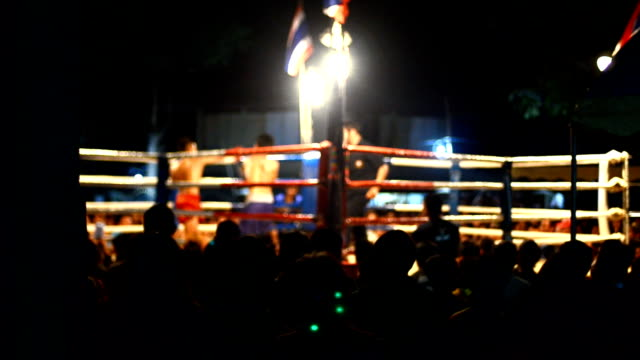 thai boxing - boxing ring stock videos & royalty-free footage