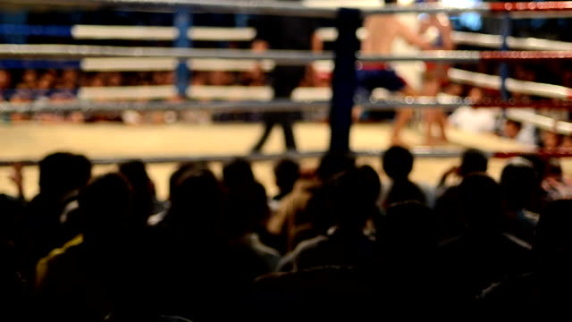 thai boxing - boxing ring stock videos and b-roll footage
