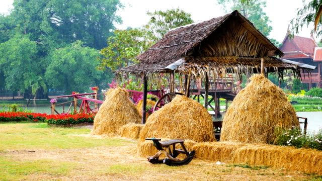 Thai Farm Shack bei Regenwetter