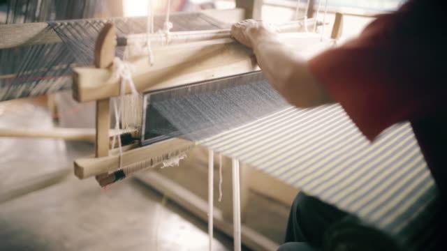 Thai hand weven katoen