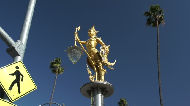 thai in los angeles - thai culture stock videos & royalty-free footage
