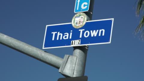 vídeos y material grabado en eventos de stock de thai in los angeles - cultura tailandesa