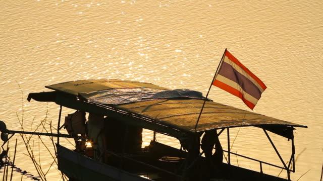 Thai Local Boat in Thailand