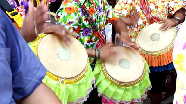 Thai Long drum performance