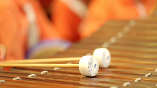 thai musical instrument - thai ethnicity stock videos & royalty-free footage