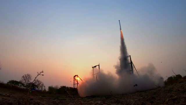 thai rocket - missile stock videos & royalty-free footage