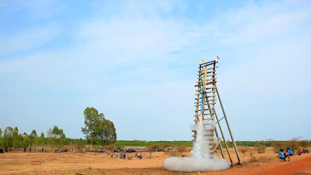 thai rocket - thai culture stock videos & royalty-free footage