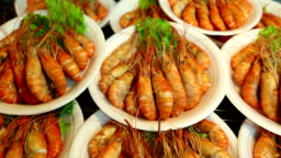 Thai Steamed Prawns