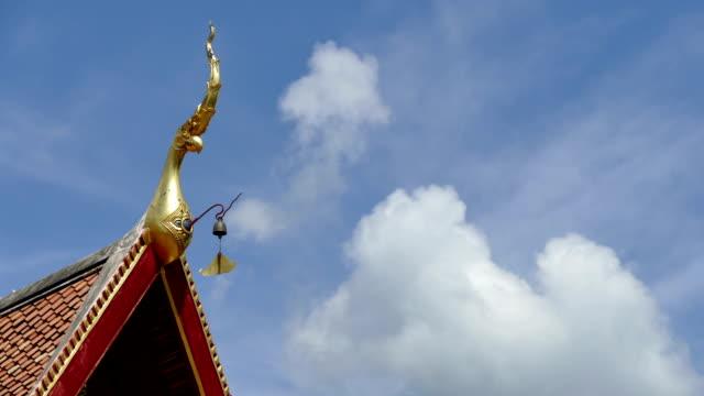 thai-tempel - chao phraya delta stock-videos und b-roll-filmmaterial