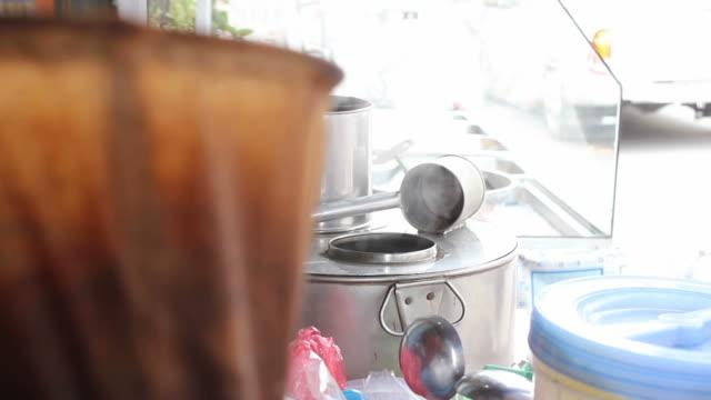 Thai traditional coffee shops.