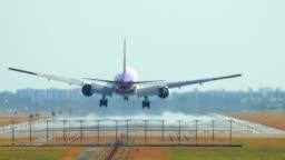 Thailand Airplane Landing