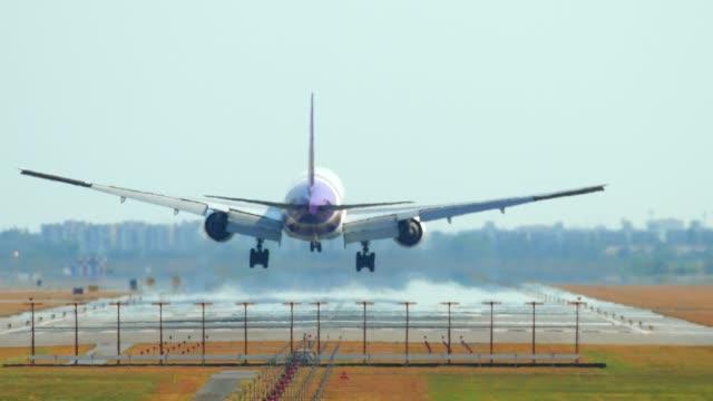 thailand airplane landing - portland oregon homes stock videos & royalty-free footage