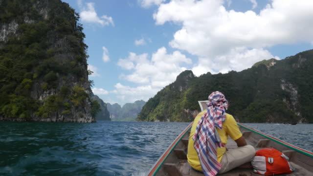 En Thaïlande, Cheow LAN lac ou Rajjaprabha Barrage de Réservoir