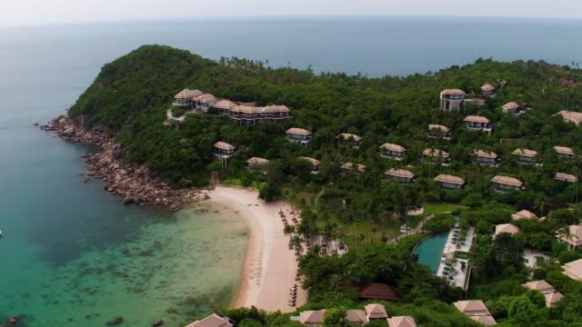 Thailand Coastline from the Air