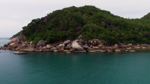 thailand coastline from the air - ko samui stock videos and b-roll footage