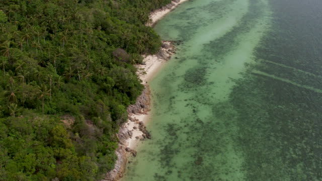 thailand coastline from the air - island stock videos & royalty-free footage
