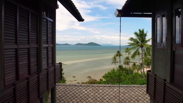 thailand hotel view - thailand stock-videos und b-roll-filmmaterial