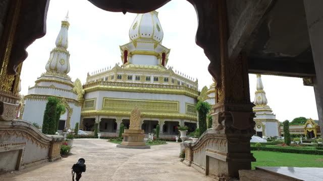 Thailand Temple Phra Maha Chedi Chai Mongkol, Roi Et in Thailand