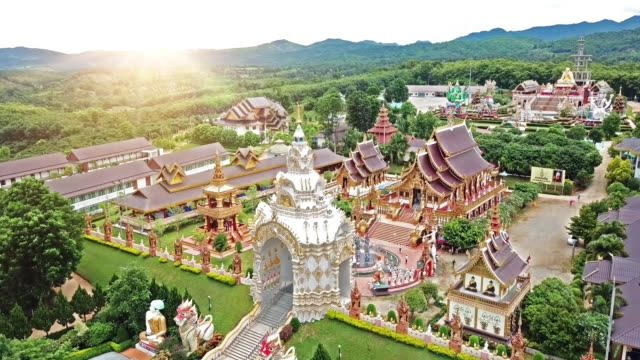 thailand temple - shrine stock videos and b-roll footage