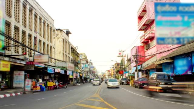 stockvideo's en b-roll-footage met thailand traffic time lapse. - lang lengte