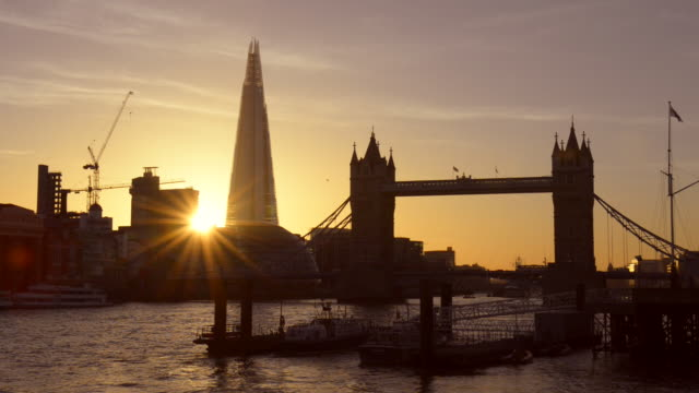 thames dusk. - ray stock videos & royalty-free footage