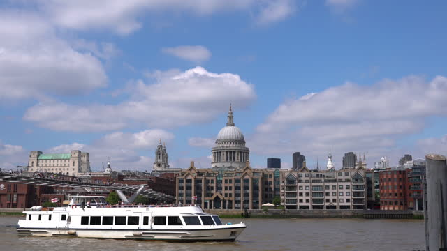 thames river - headquarters stock videos & royalty-free footage