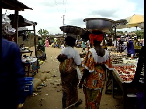 people trafficking network broken lib women children in market place - trafficking stock videos & royalty-free footage