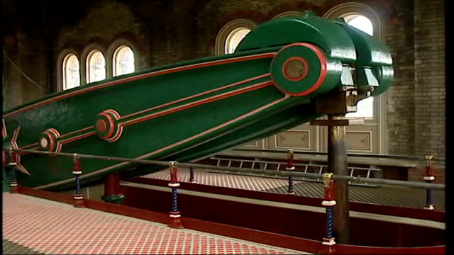 thames water bills set to rise to pay for new london sewer abbey mills pumping station int general views of pump system inside water pumping station... - water pumping station stock videos & royalty-free footage