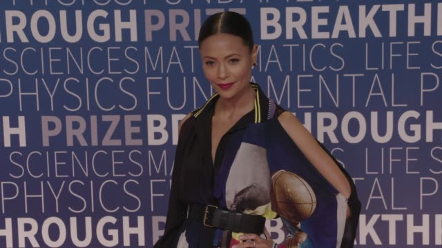 thandie newton at 2019 breakthrough prize at nasa ames research center on november 04 2018 in mountain view california - thandie newton stock videos & royalty-free footage