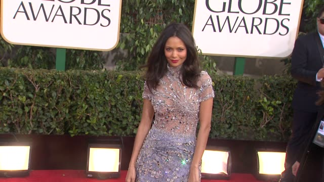 Thandie Newton at 70th Annual Golden Globe Awards Arrivals 1/13/2013 in Beverly Hills CA