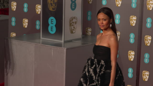 thandie newton at ee british academy film awards 2019 at royal albert hall on february 10 2019 in london england - thandie newton stock videos & royalty-free footage