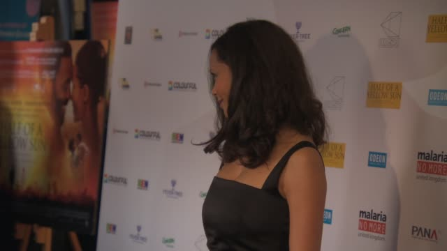 Thandie Newton at Half Of A Yellow Sun UK film premiere on April 8 2014 in London England