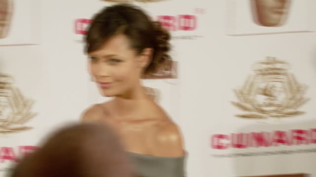 thandie newton at the 16th annual 2007 bafta/la cunard britannia awards at the century plaza hotel in century city california on november 1 2007 - thandie newton stock videos & royalty-free footage