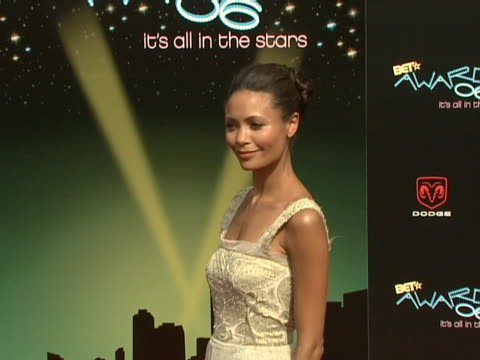 Thandie Newton at the 2006 BET Awards Arrivals at Shrine Auditorium in Los Angeles California