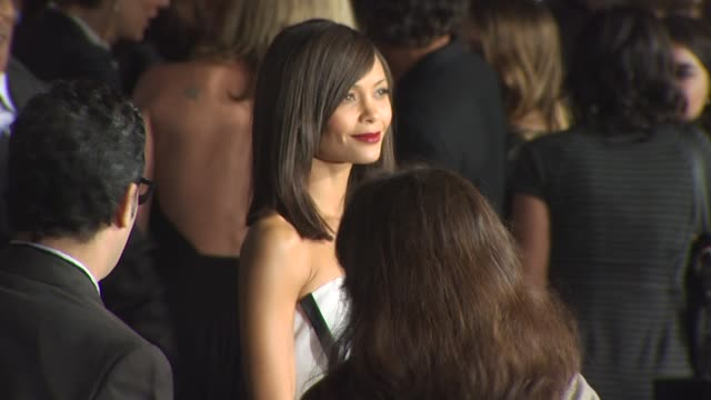 thandie newton at the '2012' premiere at los angeles ca - thandie newton stock videos & royalty-free footage