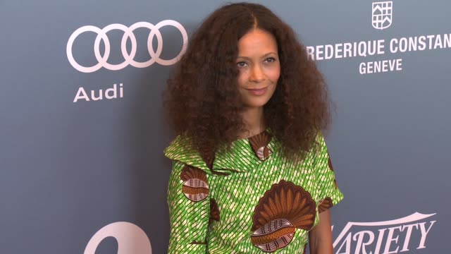 thandie newton at the beverly wilshire four seasons hotel on october 09 2015 in beverly hills california - thandie newton stock videos & royalty-free footage