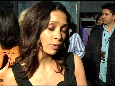Thandie Newton at the 'Crash' Los Angeles Premiere on April 26 2005