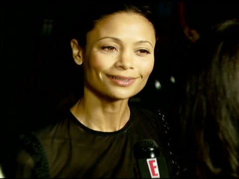 Thandie Newton at the 'Darfur Now' Screening at Directors Guild of America in Hollywood California on October 30 2007