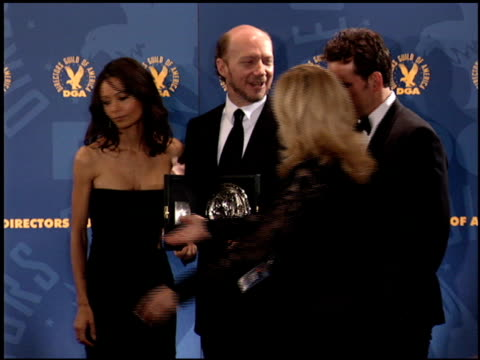 thandie newton at the dga awards at hyatt regency in century city california on january 28 2006 - thandie newton stock videos & royalty-free footage