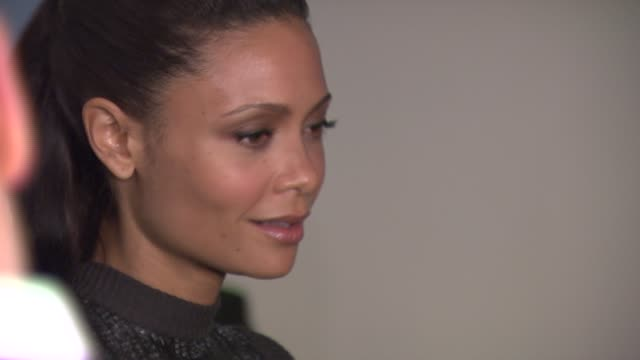 Thandie Newton at the Grand Reopening Celebration of the New Museum CoHosted by Calvin Klein at the New Museum on the Bowery in New York New York on...