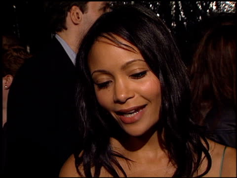thandie newton at the premiere of 'the truth about charlie' at academy theater in beverly hills california on october 16 2002 - thandie newton stock videos & royalty-free footage